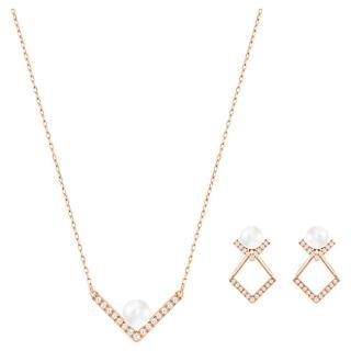 Swarovski Luxusní bronzová souprava šperků 5228746  dámské