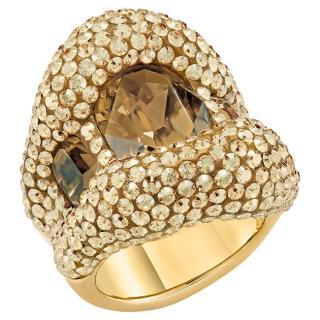 Swarovski Luxusní dámský prsten s krystaly Swarovski Tigris 55153 58 mm dámské