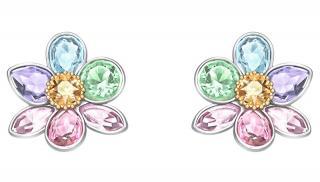 Swarovski Luxusní náušnice Květiny Fashion Jewelry 5227320 dámské