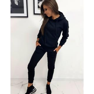 Sweatshirt set DRESSLILY for women black AY0129 dámské Neurčeno S