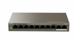 Switch switch tenda tef1110p-8-102w, poe, 102w, 9-port