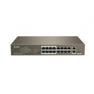 Switch switch tenda tef1118p-16-150w, poe, 135w, 17-port