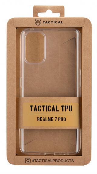 Tactical silikonové pouzdro pro Realme 7 Pro, transparentní