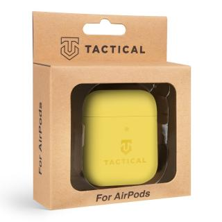Tactical Velvet Smoothie silikonové pouzdro Apple AirPods banana