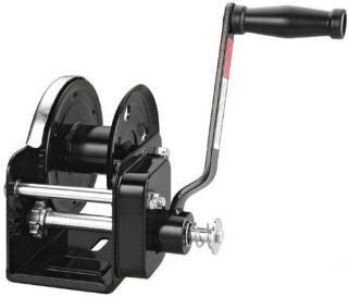 Talamex Naviják přívěsného vozíku s brzdou WT-75G - 900 kg