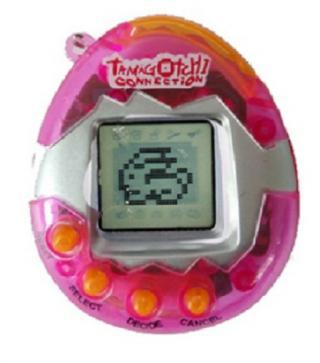 Tamagotchi elektronické zvířátko - 6 barev Barva: růžová