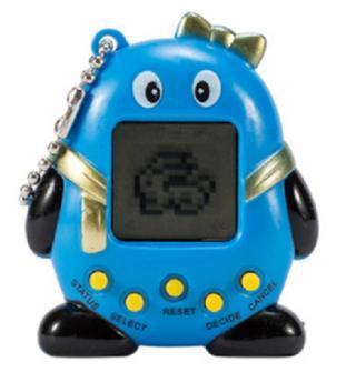 Tamagotchi virtuální tučňák - 5 barev Barva: modrá