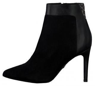 Tamaris Dámské kotníkové boty 1-1-25305-23-031 Blk/Leop.Comb 40 dámské