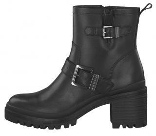Tamaris Dámské kotníkové boty 1-1-25419-23-001 Black 39 dámské