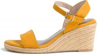 Tamaris Dámské sandále 1-1-28300-24-684 Mustard 41 dámské
