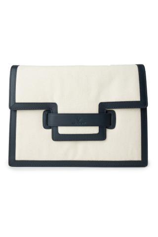 Taška Gant D1. Canvas Shoulder Bag dámské bílá