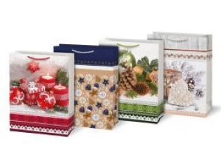 Taška MFP vánoční T14 mix V1 405x555x205