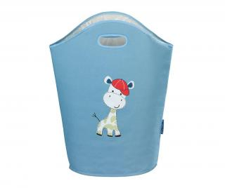 Taška na prádlo Baby Giraffe Blue 24 L Modrá 24 L