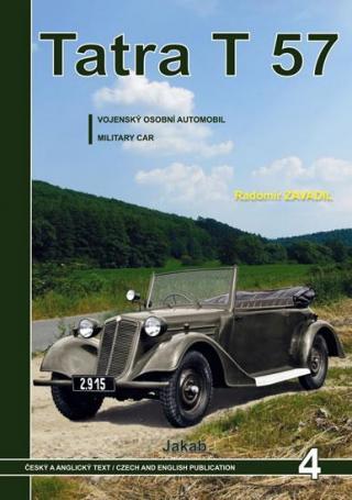 Tatra 57 - Vojenský osobní automobil - Zavadil Radomír