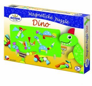 TEDDIES Magnetické puzzle Dinosauři mix barev