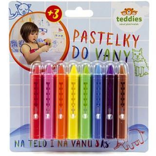 Teddies Pastelky do vany 8 ks