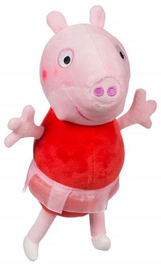 TEDDIES Prasátko Peppa postavička Pepina balerína růžová
