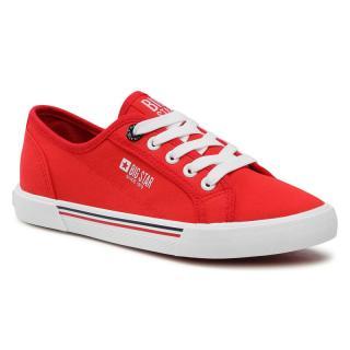 Tenisky BIG STAR - HH274061 Red dámské Červená 39
