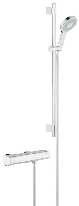 Termostat Grohe Grohtherm 2000 s termostatickou baterií 150 mm chrom 34482001 chrom chrom