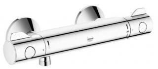 Termostat Grohe Grohtherm 800 s termostatickou baterií 150 mm chrom 34558000 chrom chrom