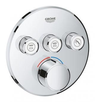Termostat Grohe Smart Control bez podomítkového tělesa chrom 29146000 chrom chrom