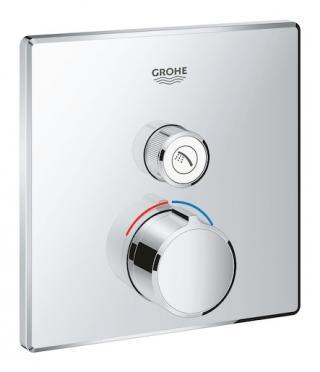 Termostat Grohe Smart Control bez podomítkového tělesa chrom 29147000 chrom chrom