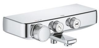 Termostat Grohe Smart Control s termostatickou baterií 150 mm chrom 34718000 chrom chrom