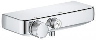 Termostat Grohe Smart Control s termostatickou baterií 150 mm chrom 34719000 chrom chrom