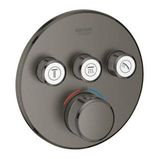 Termostat Grohe Smart Control s termostatickou baterií Brushed Hard Graphite 29121AL0 ostatní Brushed Hard Graphite