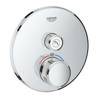 Termostat Grohe Smart Control s termostatickou baterií chrom 29118000 chrom chrom