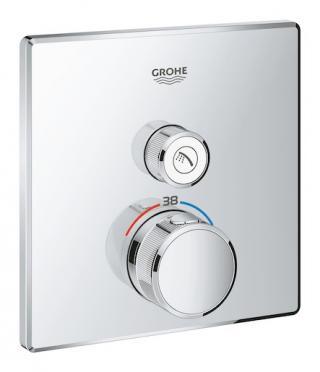Termostat Grohe Smart Control s termostatickou baterií chrom 29123000 chrom chrom