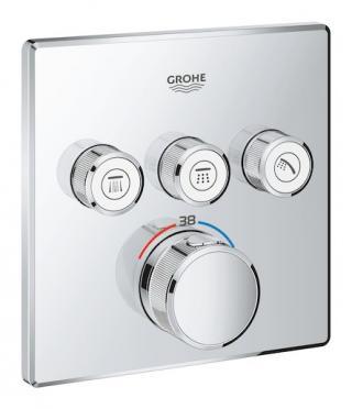 Termostat Grohe Smart Control s termostatickou baterií chrom 29126000 chrom chrom