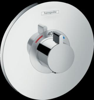Termostat Hansgrohe Ecostat S bez podomítkového tělesa chrom 15755000 chrom chrom