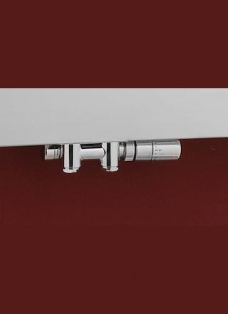 Termostatický ventil P.M.H. kov chrom TWINCOMBICR chrom chrom