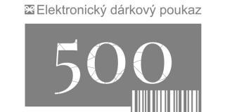 Tescoma dárkový poukaz 500 Kč elektronický