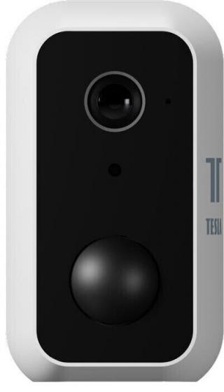 Tesla Smart Camera PIR Battery Bílá White