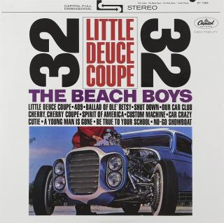 The Beach Boys Little Deuce Coupe  Black