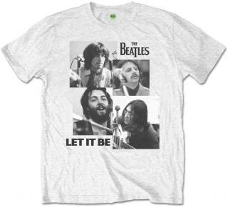 The Beatles Kids Tee Let it Be  pánské White 9 - 10 Y