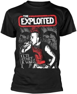The Exploited Lets Start A War L pánské Black L