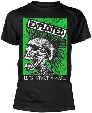 The Exploited Lets Start A War  S pánské Black S