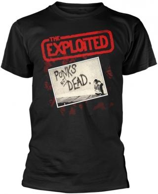 The Exploited Punks Not Dead Album T-Shirt S Black S