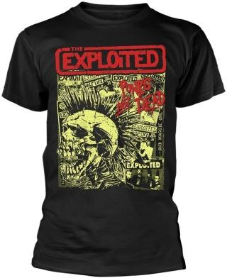 The Exploited Punks Not Dead Black S pánské S
