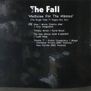 The Fall RSD - Medicine For The Masses The Rough Trade 7 Singles  Black