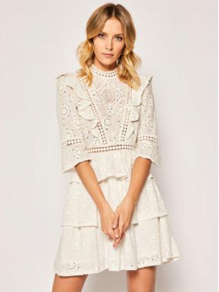 The Kooples Každodenní šaty FROB20148K Bílá Regular Fit dámské 2