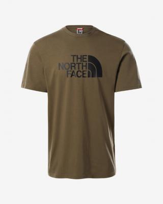 The North Face Easy Triko Zelená Hnědá pánské XL