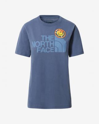 The North Face Patches Triko Modrá dámské XS
