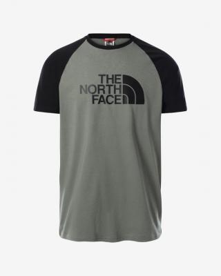 The North Face Raglan Easy Triko Zelená pánské XXL