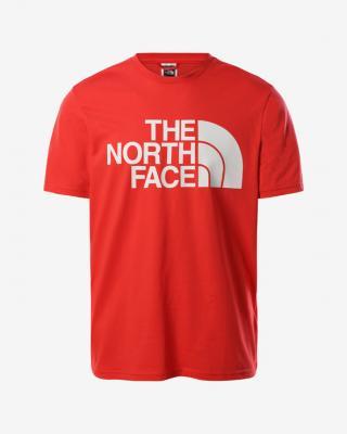 The North Face Standard Triko Červená pánské S