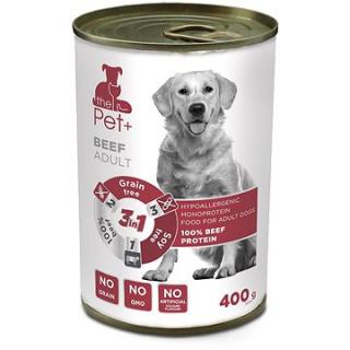ThePet  Dog tin Beef 400 g
