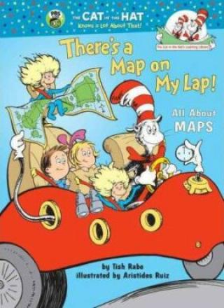There´s a Map on My Lap! All About Maps - Tish Rabe